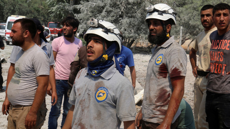 Are the White Helmets preparing another Chemical Weapons False Flag?