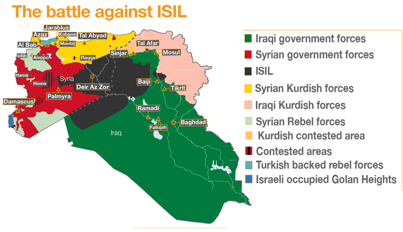 What is left of ISIL in Iraq?