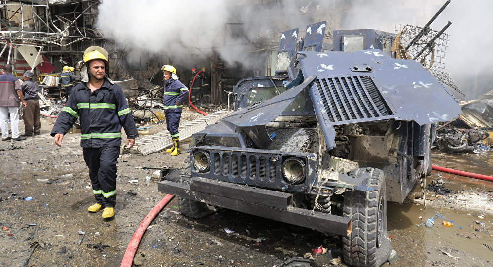 Daesh Claims Responsibility for Baghdad Suicide Blast in Sadr City